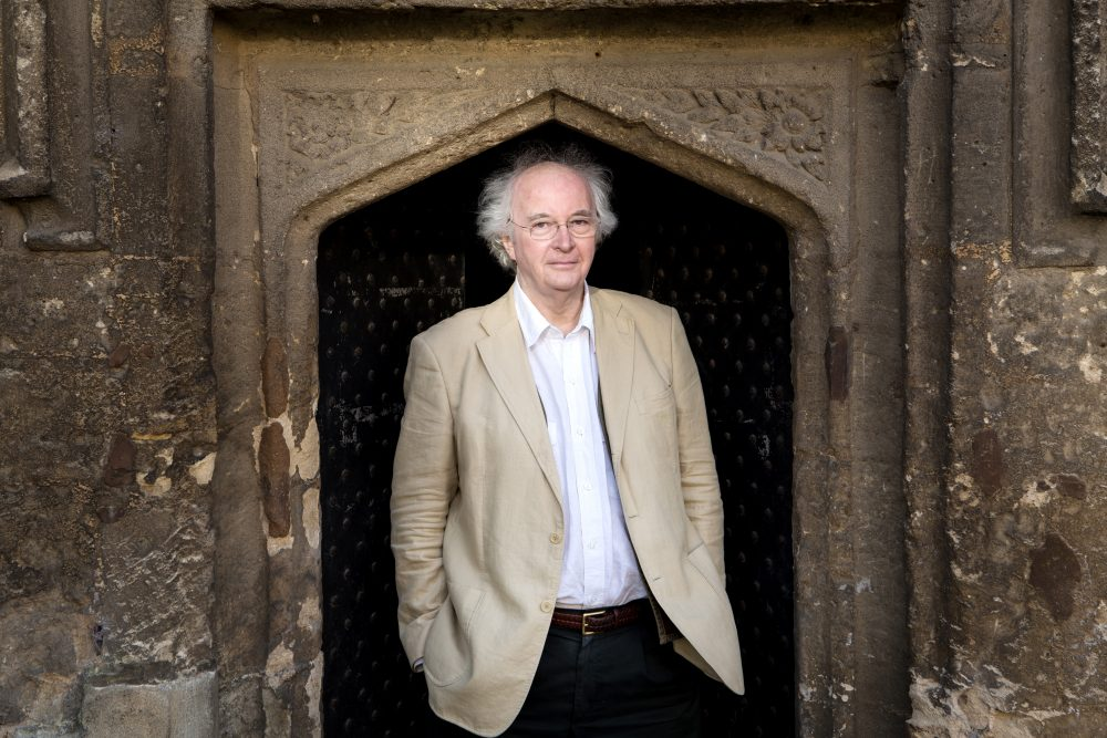 Philip Pullman, Author. Photographed by Michael Leckie in Oxford 11th January 2017