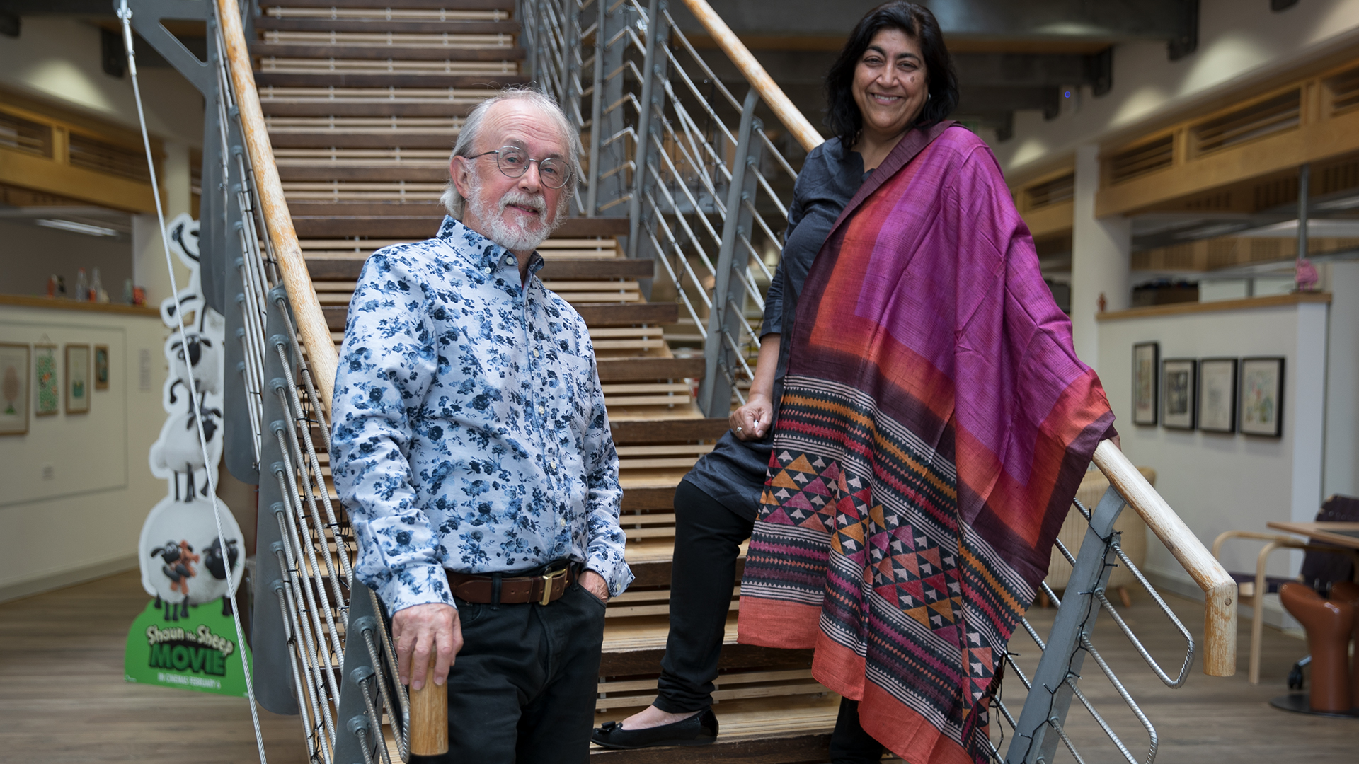 Peter Lord and Gurinder Chadha